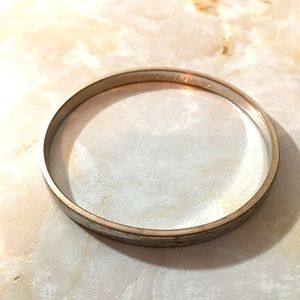 Kate Spade Bangle: find the silver lining